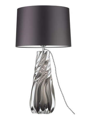 At houseology heathfield co naiad smoke table lamp