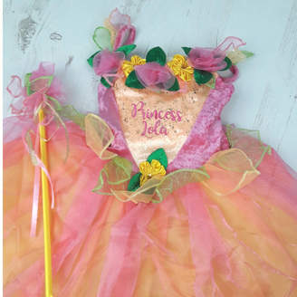 Time To Dress Up Personalised Peach Melba Fairy Dress