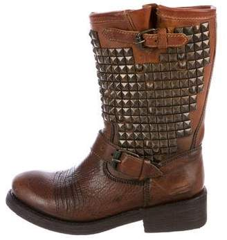 Ash Trash Studded Boots