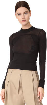 Rick Owens DRKSHDW Cropped Tee $410 thestylecure.com