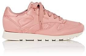 Reebok Women's Classic Satin Sneakers - Md. Pink