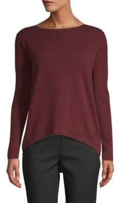 Saks Fifth Avenue Drop-Shoulder Cashmere Sweater