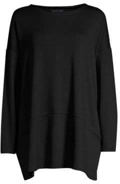 Eileen Fisher Oversized Ballet Neck Tunic