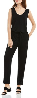 VINCE CAMUTO Sleeveless Jersey Jumpsuit $109 thestylecure.com