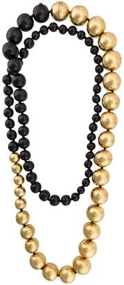 Monies large beaded necklace