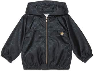 Baby GG nylon light hooded jacket $445 thestylecure.com
