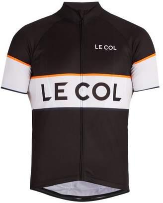 Le Col - Sport Zip Through Cycling Top - Mens - Black Multi