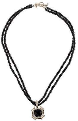 Robin Rotenier Black Onyx Bead Necklace
