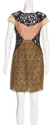 Hoss Intropia Lace Mini Dress