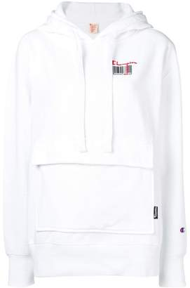 Champion patch pocket hoodie