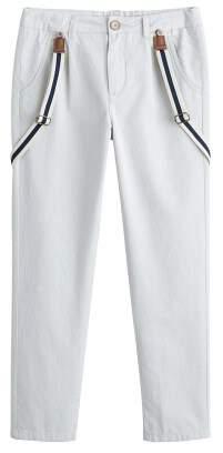MANGO Cotton trouser with braces