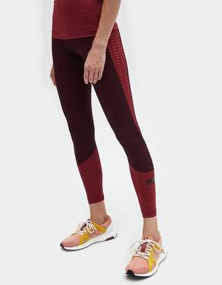 adidas by Stella McCartney Training ULT Tight in Dark Burgundy/Legend Red