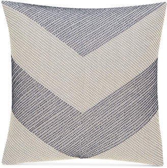 """Hotel Collection CLOSEOUT! Waffle Weave Chambray 18"""" Square Decorative Pillow, Created for Macy's"""