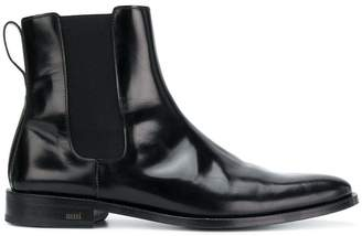 Ami Alexandre Mattiussi Chelsea Boots With Thick Leather Sole