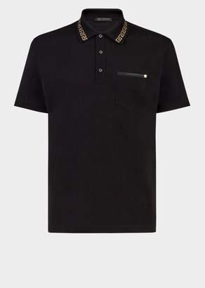 Versace Greek Key Polo Shirt