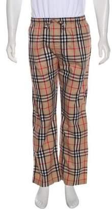 Burberry Nova Check Pajama Pants