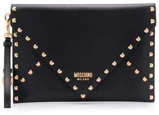 Moschino Teddy bear clutch bag
