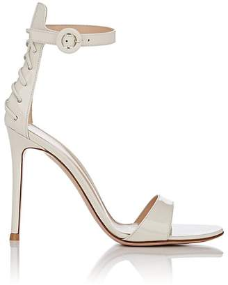 Gianvito Rossi Women's Patent Leather Ankle-Strap Sandals