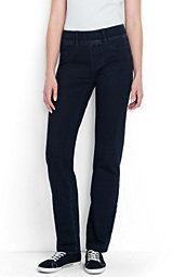 Lands' End Women's Starfish Jeans-Celestial Blue