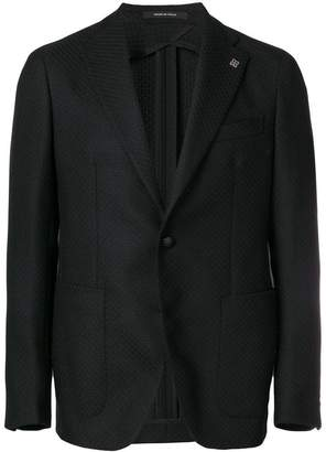 Tagliatore fitted tailored jacket