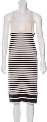 Rag & Bone Stripe Print Knit Dress