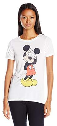 Disney Women's Mickey High-Low T-Shirt $17.50 thestylecure.com