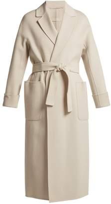 Max Mara S Tie-waist wool wrap coat