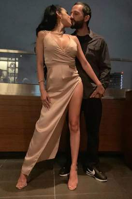 Minx Silk Satin Dress