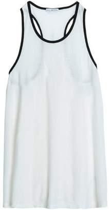 James Perse Slub Cotton And Linen-Blend Jersey Tank