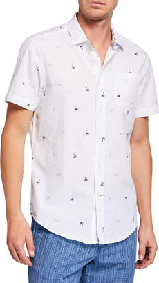 Report Collection Men's Button-Down Sport Shirt