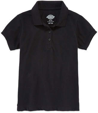 Dickies Short-Sleeve Piqu Polo Shirt - Girls 7-16