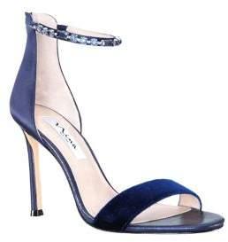 Nina Deena2 Embellished Satin Dress Sandals