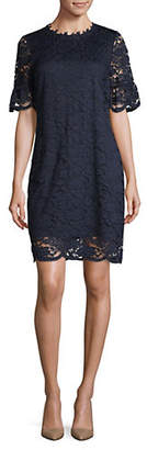 ABS by Allen Schwartz COLLECTION Lace Bell-Sleeve Dress