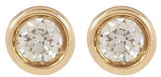 Ron Hami 14K Gold Diamond Stud Earrings - 0.07 ctw