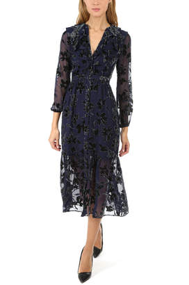 Saloni Ginny Floral Midi Dress