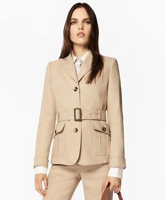 Brooks Brothers Linen-Blend Safari Jacket