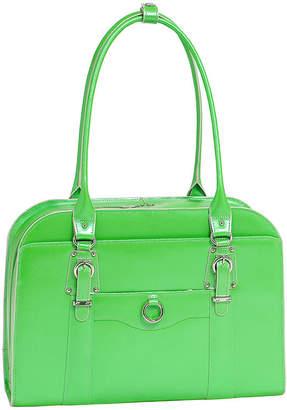 McKlein McKleinUSA Hillside 14 Leather Laptop Briefcase
