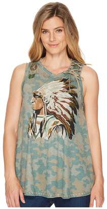 Double D Ranchwear Tall Chief Tank Top Women's Sleeveless