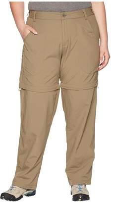 White Sierra Plus Size Sierra Point Convertible Pant Women's Casual Pants