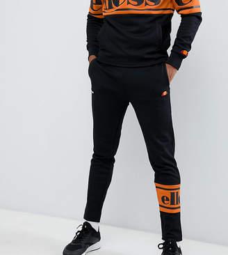 Ellesse Panel Logo Sweatpants In Black