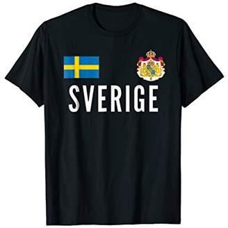Sweden Soccer Jersey [Team No.22 on BACKside]Svensk Football