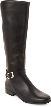 Tahari Black Lacey Riding Boots