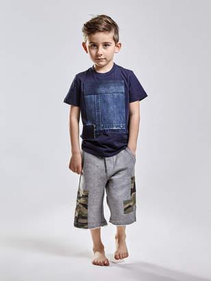 Diesel KIDS T-shirts and Tops KYAMN - Blue - 10Y