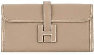 Hermes Pre-Owned 2014 Jige Elan H logos clutch hand bag