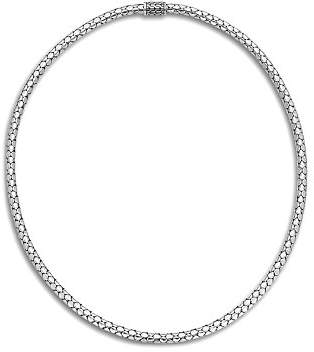 John Hardy Sterling Silver Dot Small Chain Necklace, 18""