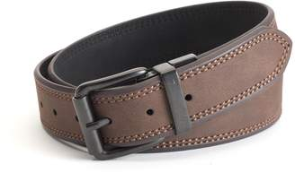 Levi's Levis Men's Reversible Beveled-Edge Double-Stitched Belt