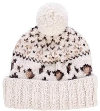 Eugenia Kim Chunky Knit Baby Alpaca Beanie
