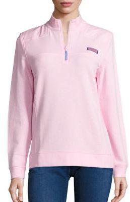 Vineyard Vines Shep Cotton Sweater $98 thestylecure.com