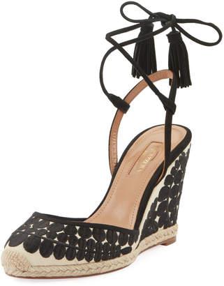 0d622c4d6f3 Aquazzura Ankle Wrap Women s Sandals - ShopStyle