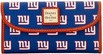 Dooney & Bourke NFL NY Giants Continental Clutch